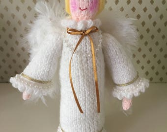 Deluxe Hand Knitted Angel