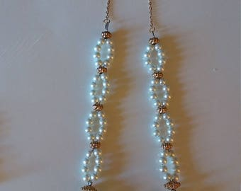 Necklace Jade and Pearl Set