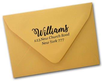 Self Inking Return Address Stamp,Return address stamp,Custom stamp, Address Stamps, Self Inking Address Stamp  rubber stamp,personalizedJS05