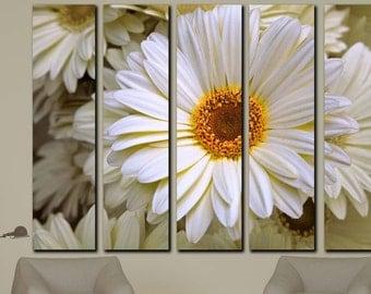 White flower canvas,Floral canvas,Flower print wallpaper,Flower wallpaper,Floral wall decal,Floral print Mural,Floral canvas art,canvas art
