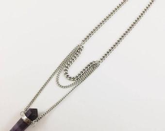 Vogel Amethyst Necklace