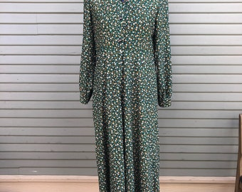 Vintage dress // 1960s // flower print