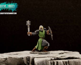 Green Knight Miniature with Mace