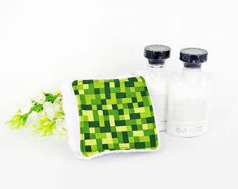 Minecraft Reusable Cotton Rounds - Zero Waste Makeup Remover Pads