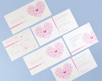 Flutter Pink & White RSVP