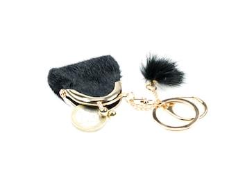 Little wallet keychain, planner pendant.