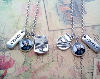 Supernatural paired pendants