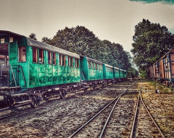 "Photography ""The old railroad"""