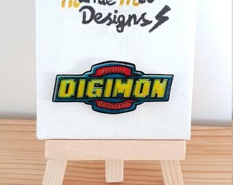 Digimon Logo Pin Badge