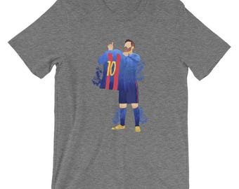 Messi T-Shirt - FC Barcelona T-Shirt - Gifts for Soccer Fans