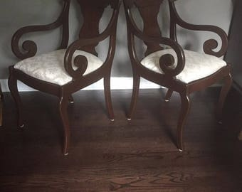 Vintage American captain chairs from Pennsylvania House
