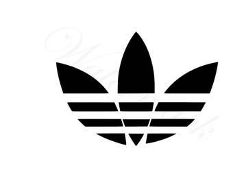 Adidas logo svg | Etsy