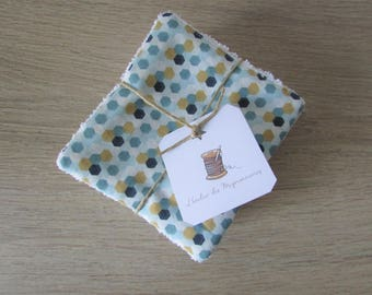 10 baby wipes / cleansing washable JULES