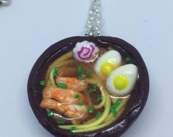 Japanese ramen necklace