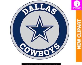 DALLAS COWBOYS SVG, cut files, vector, clipart, Dallas Cowboys Football print file, T-shirt, Dallas Cowboys logo, cricut, silhouette cameo