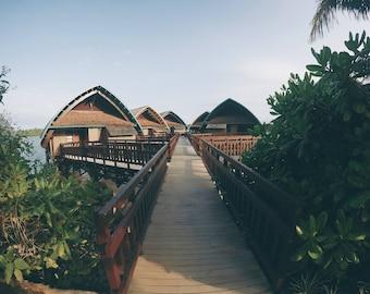 Vanuatu Beach Hut Print