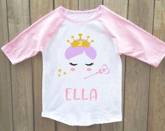 Princess birthday shirt, princess birthday, princess shirt, girls princess party, princess birthday party, fairy princess, birthday princess