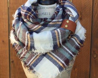 Blanket Scarf, Plaid Blkanker Scarf, Blanket Wrap, Blanket Scarves, Winter Wrap Blaket Scarf, Plaid Scarf, Blanket Scarf Plaid, scarfs