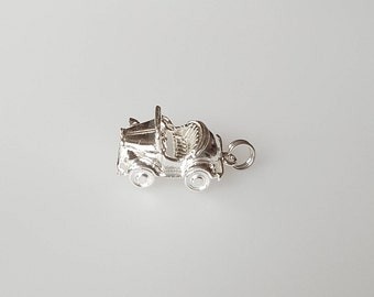 Toy Car in .925 Sterling Silver