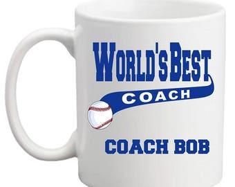 World's Best Coach Sports MUG
