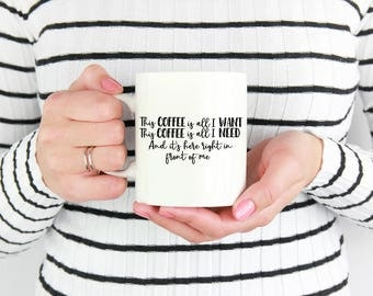 This Coffee is All I Want , The Greatest Showman, Movie , Gift , Funny, Humor,  Musical, Dance, Song, Artist, Entertainment, Singing