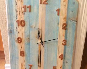clock, farm house, shabby chic, home decor