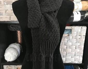 Scarf/Womens Scarf/Crochet/Handmade