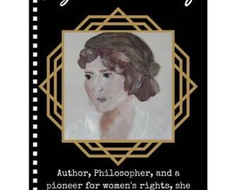 Mary Wollstonecraft Notebook - Badass Ladies of History Journal