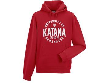 Sweatshirt Hood Suzuki University Of Hamamatsu-KATANA-GSX-R-Gixxer
