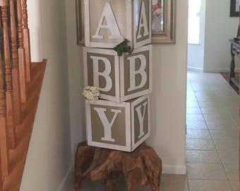 Custom Baby Blocks