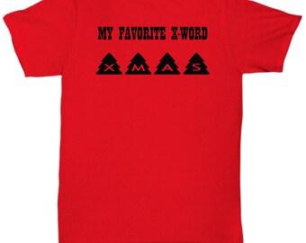 Unisex Xmas Tshirt for the Holidays