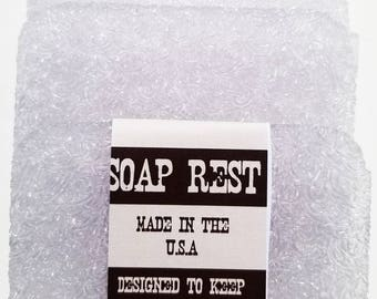 Ice Soap Rest  ..  Soap Saver .. Makes Your Bar Soap Last Longer .. 3 Pack