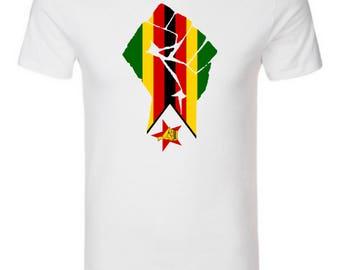 Men's T-Shirt with Zim flag logo