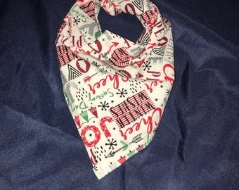 Christmas Bandana, Holiday Bandana, Dog/Cat Bandana