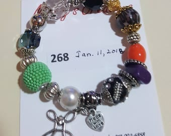 PSALM 23 Bracelet  comes in a gift box with Explanations