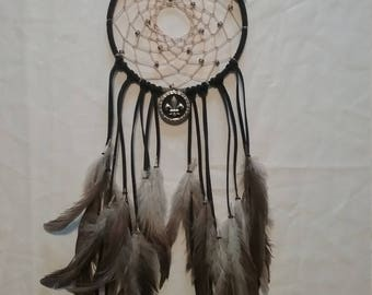 Black Feather Dream Catcher