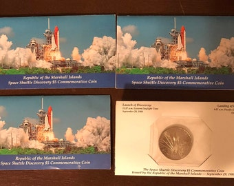 space shuttle discovery 5 dollar commemorative coin - photo #44
