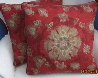 Thibaut Linen Blend Pillow Cover