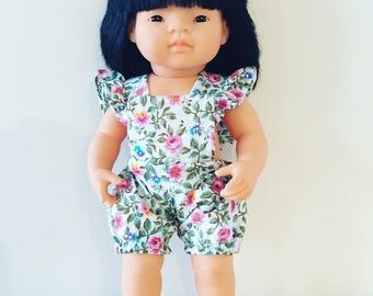 Miniland fabric romper for 38cm doll