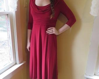 Nursing Dress Jones New York Red Dress Size 10