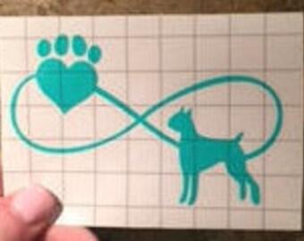 Love Dog Sticker