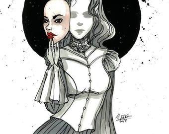 Ghost - Inktober - Witchtober