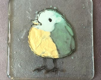 Fused Glass Animal Coaster