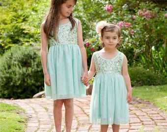 May sequins girls party dress