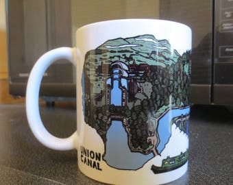 005. UNION CANAL - Scotland Waterway Mug