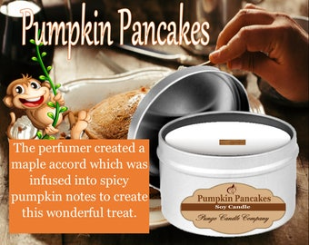 Pumpkin Pancakes Soy Candle Tin (8 oz.)