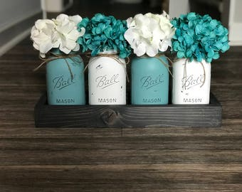 Mason Jar Table Centerpiece