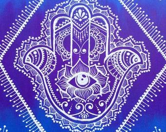 Hamsa Print