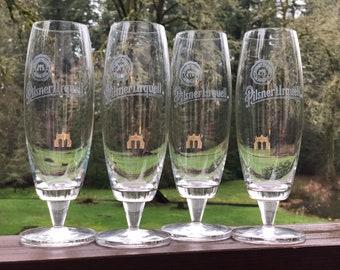 Pilsner Urquell Beer Glasses (4)