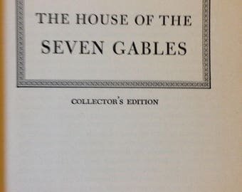 "Vintage ""The House of the Seven Gables"" by Nathaniel Hawthorne Pocket Books Hardback"
